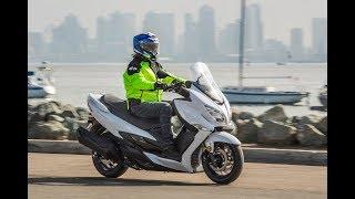 8. 14 Fast Facts aboaut 2018 Suzuki Burgman 400 ABS | Mid-size Luxury Scooter