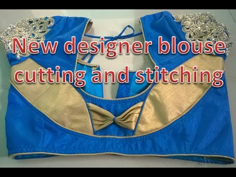 Video new blouse back neck designs 2017 - model blouse cutting and stitching | tailoring spot download in MP3, 3GP, MP4, WEBM, AVI, FLV January 2017