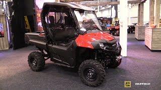 9. 2018 Honda Pioneer 700 Accessorized Utility ATV - Walkaround - 2017 Toronto ATV Show