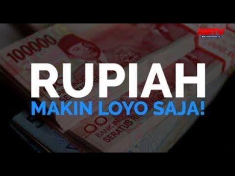 Rupiah Makin Loyo Saja!