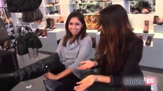 Samia Khan Try Shoes ( High Heels And Thigh High Boots)
