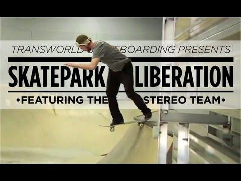 Skatepark Liberation: Stereo Sound Agency - TransWorld SKATEboarding