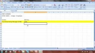 Oracle Fusion Financials Training | 3rd Session