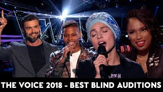Video The Voice 2018 TOP-10 BEST Blind Auditions In the World MP3, 3GP, MP4, WEBM, AVI, FLV Maret 2019