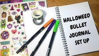 October (Halloweed) Bullet Journal Set Up // Being a Productive Stoner by Chronic Crafter