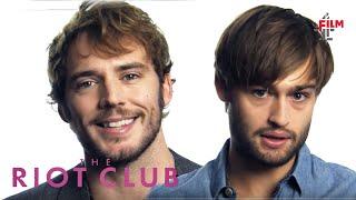 Sam Claflin, Max Irons + Douglas Booth on The Riot Club
