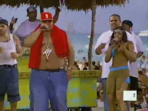 Fat Joe Feat. Ashanti - What's Love Live (2002 MTV Spring Break)