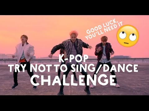 K-POP TRY NOT TO SING/DANCE CHALLENGE *SUPER HARD*