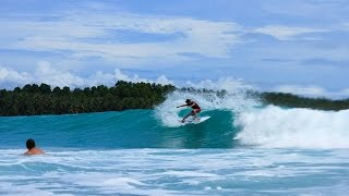 Surfing Mentawai With The Perfect Wave   Aug 2014