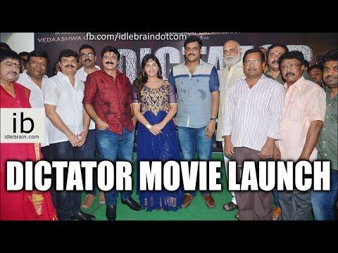 Balakrishna's Dictator Movie Launch