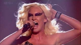 Kitty Brucknell is X Factor royalty! - The X Factor 2011 Live Show 1 (Full Version)