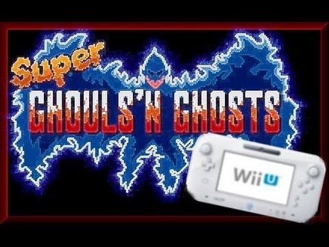ghouls n ghosts wii u