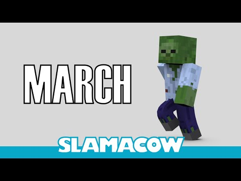 Dave's March - Minecraft Animation