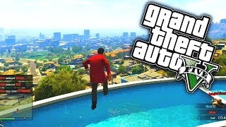 GTA 5 Funny Moments #42 with KSI, ZerkaaPlays, W2S, MM7Games, Behzinga & TBJZL! (GTA V Online)