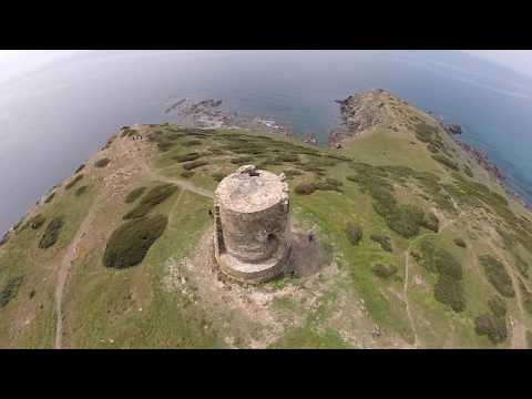 Torre dei Corsari vista da un drone - Intracor Drone GoPro Sardegna