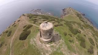 Torre Dei Corsari Italy  city photos gallery : Torre dei Corsari vista da un drone - Intracor Drone GoPro Sardegna