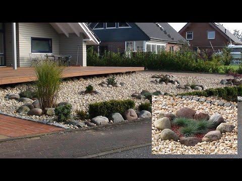 Steingarten - Pflegeleichter Vorgarten im außergewöhnlichen Stil- So klappt es auch bei Ihnen!