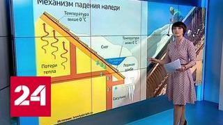 """""""Погода 24"""": гигантская глыба льда. Шокирующее видео из Воронежа"""