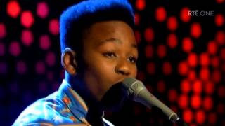 2 Irish boys - We found love - Cover - The Late Late show. - YouTube