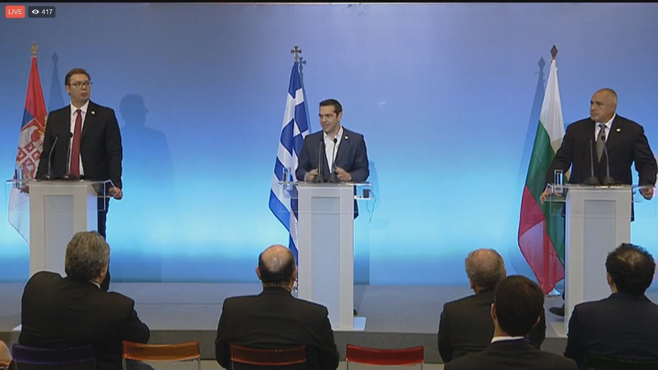Aλ. Τσίπρας: Ελλάδα Βουλγαρία και Σερβία παράγοντας σταθερότητας στα Βαλκάνια