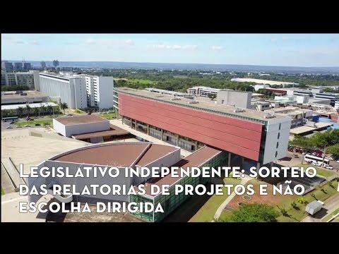 Legislativo independente: sorteio das relatorias de projetos e não escolha dirigida