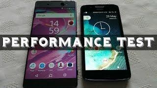 Sony Xperia XA Ultra VS Moto G5 2017 Performance Test