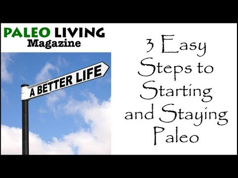 Paleo Diet for Beginners – 3 Easy Steps to Starting and Staying Paleo