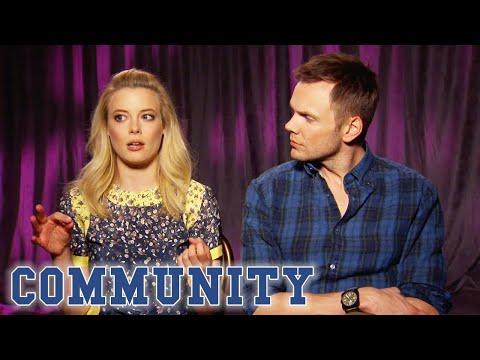 Gillian Jacobs & Joel McHale On The Importance Of Community's Fanbase | Season 3 BTS | Community