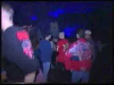 Beelden van Thunderdome in 1996