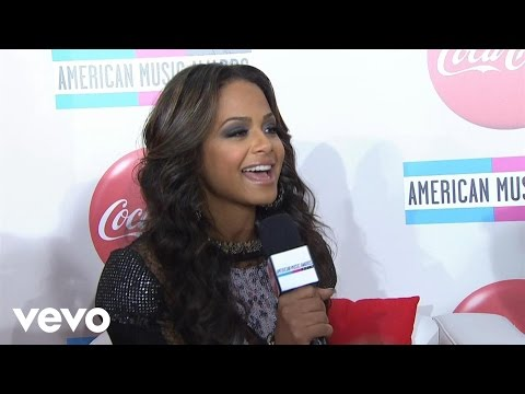 Christina Milian - 2010 Red Carpet Interview (American Music Awards)