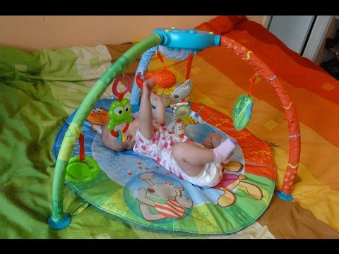 Chicco Bubble Gym  наш игровой коврик