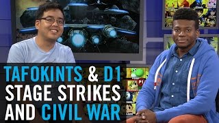 D1 talks Smash 4 stage strikes, Nintendo Switch, and the impending Civil War