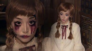 Vintage Doll + Broken Doll ✞ Halloween Makeup | ハロウィン ✞ ドールメイク