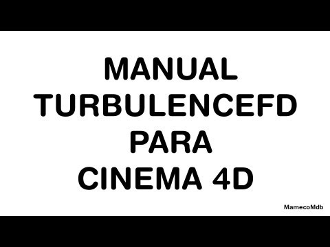 MANUAL TURBULENCEFD PARA C4D