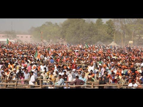प्रधानमंत्री की जौनपुर में चुनावी सभा
