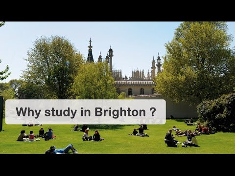 Why study in Brighton? | University of Brighton International College