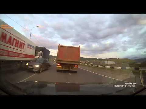 Страшные аварии грузовиков