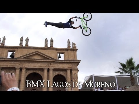 moreno - BMX riders from all over the world traveled to Lagos de Moreno, Jalisco, Mexico for a dirt jumping contest unlike any other. Nick Bruce took the win and best trick in front of Logan Martin...