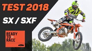 3. 2018 KTM SX and SXF Test Review