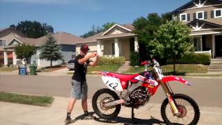 6. Review of my 2006 crf250r