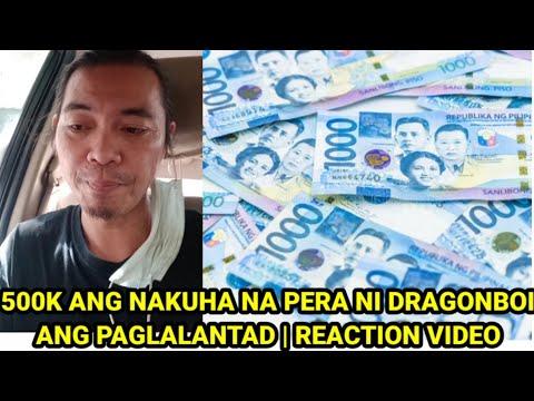 DRAGONBOI NAKATANGGAP NG 500K AT NABILI NIYA NG INNOVA   REACTION VIDEO