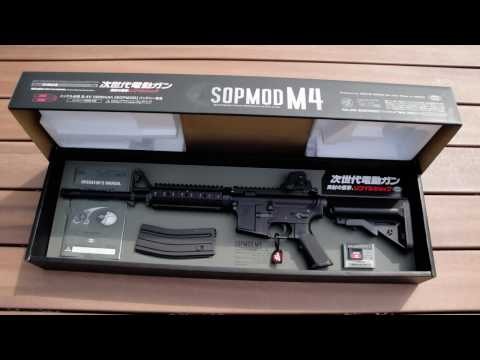 M4SOPMOD - Airsoft Review M4 sopmod : [ Tokyo Marui ] (nex gen) Review SCAR L (next gen) : http://www.youtube.com/watch?v=Y4Hpx6b5ub4 Review M92F Marui : http://www.you...