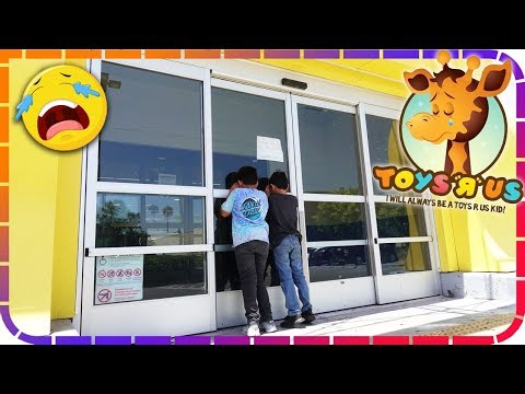 I WILL ALWAYS BE A TOYS R US KID! Store Closing!