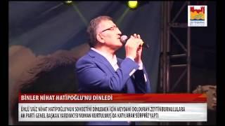 Zeytinburnu'nda Nihat Hatipoğlu izdihamı