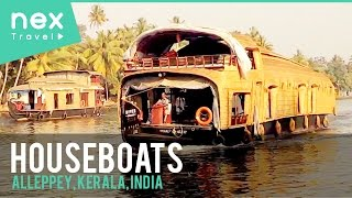 Alleppey India  city photos gallery : Houseboats in Alleppey, Tourist Places in Kerala, India