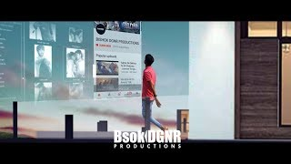 youtube subscribe intro Feat JUSTINE DGNR by BISHOK DGNR productions