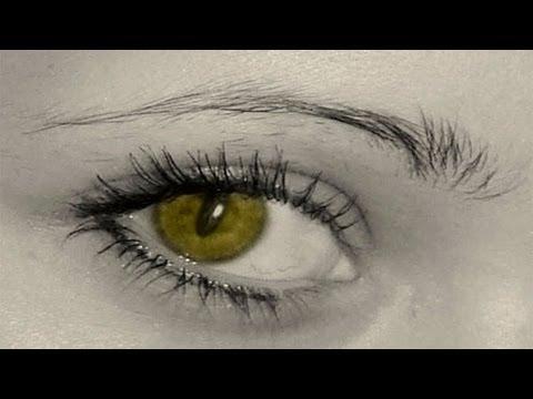 Как сделать глаза на резкими вшопе