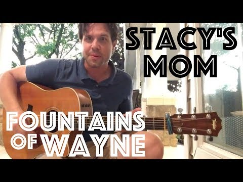 Guitar Lesson: How To Play Stacy's Mom By Fountains Of Wayne