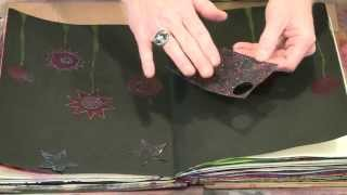 Journaling In The Dark:Creating With Black Backgrounds - YouTube