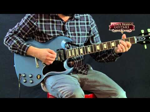 Custom (musician) - Filmed at Musician's Friend Private Reserve Guitars in October 2014. For more information: http://www.musiciansfriend.com/guitars/gibson-custom-sg-standard-reissue-electric-guitar/j13496 ...